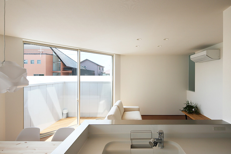 *studio LOOP 建築設計事務所 مطبخ