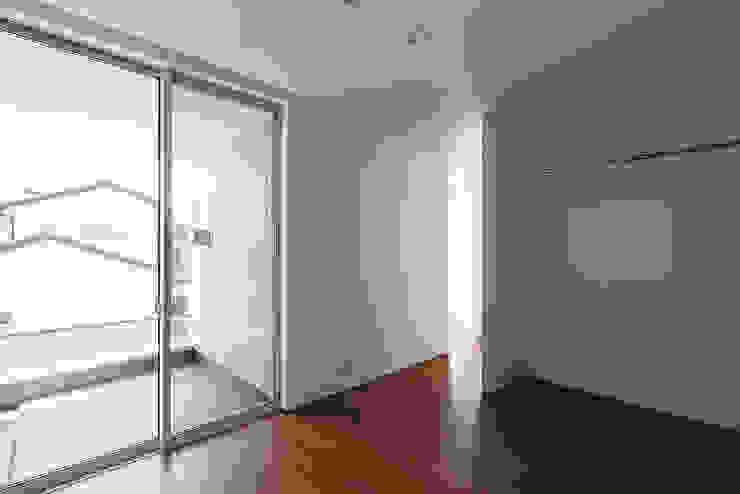 *studio LOOP 建築設計事務所 غرفة نوم