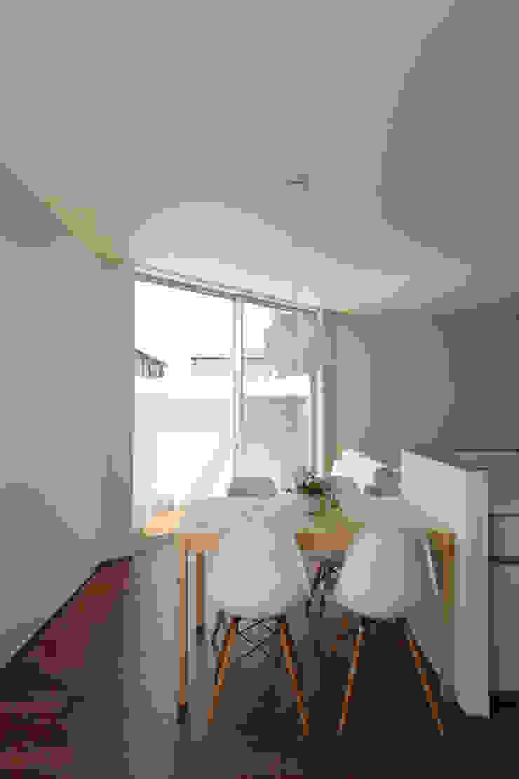 *studio LOOP 建築設計事務所 غرفة السفرة