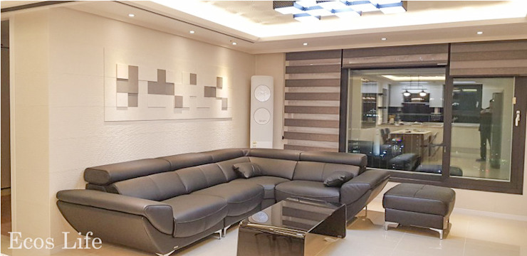 Salas de estilo moderno de 인테리1 Moderno