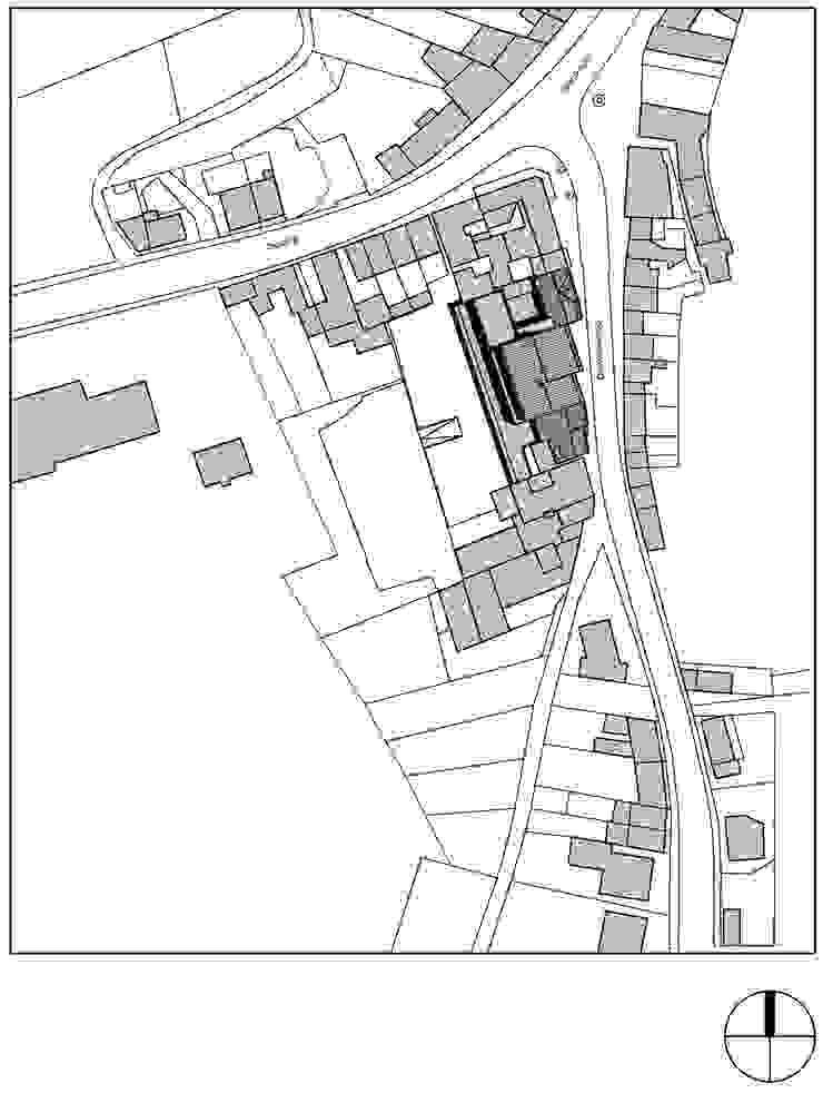 Winkels en appartementen, Valkenburg a/d Geul van Verheij Architecten BNA Klassiek