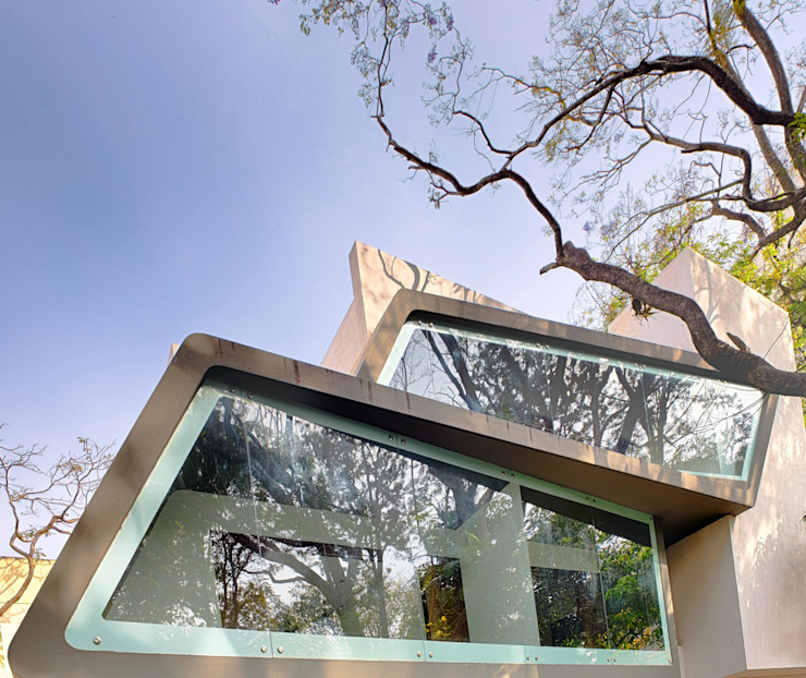 Mobius Modern houses by Architecture Continuous Modern