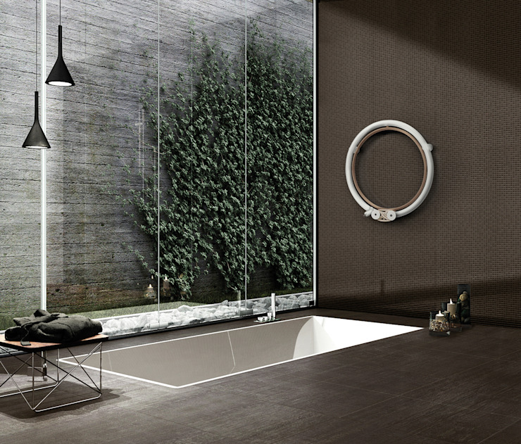 SCIROCCO H ห้องน้ำอ่างอาบน้ำ ฝักบัวอาบน้ำ เหล็ก Beige