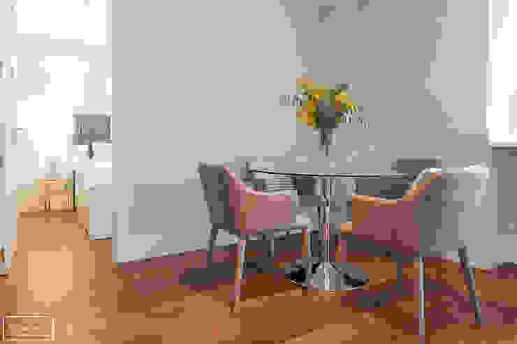 Home Staging piso piloto Madrid Theunissen Staging y Decoración SL Comedores de estilo moderno