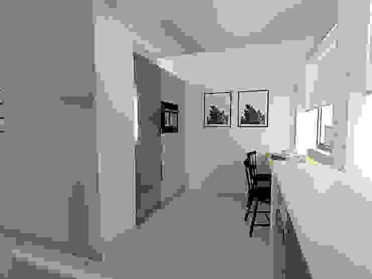 現代廚房設計點子、靈感&圖片 根據 Criadesign Studio 現代風