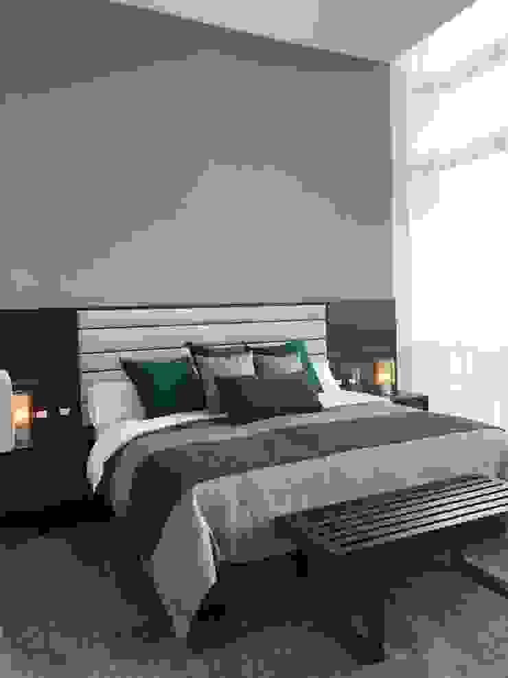 Modern Bedroom by De Firma Muebles Modern Wood Wood effect
