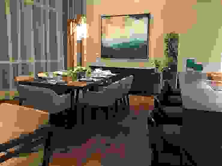 Modern Dining Room by De Firma Muebles Modern Wood Wood effect