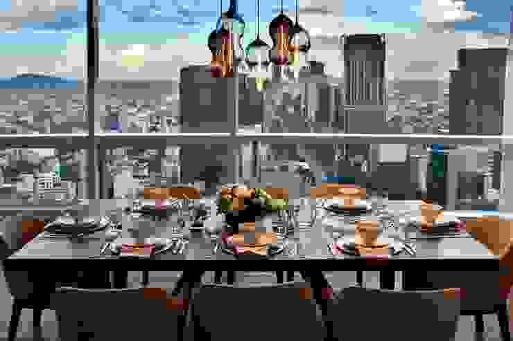 Vista comedor Comedores modernos de De Firma Muebles Moderno Vidrio