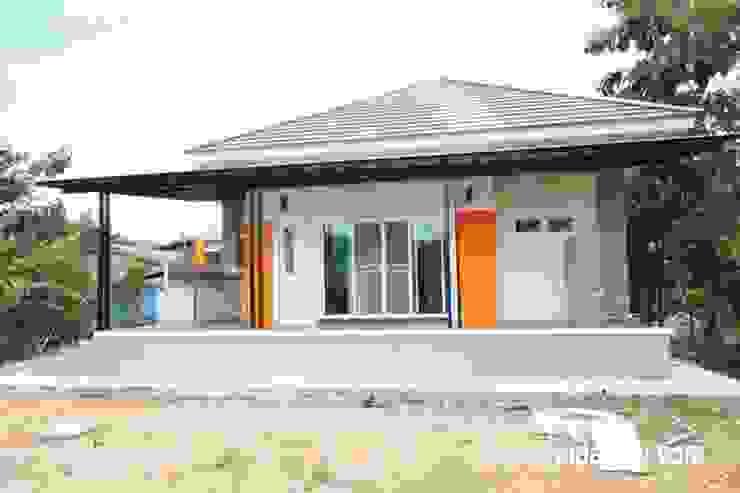 Mẫu nhà cấp 4 100m2 tinh tế giữa không gian xanh mát bởi Dự án nhà đất mới