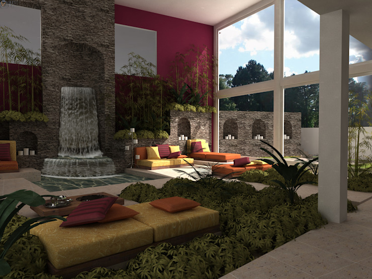 Mediterranean style garden by Tekne Mediterranean