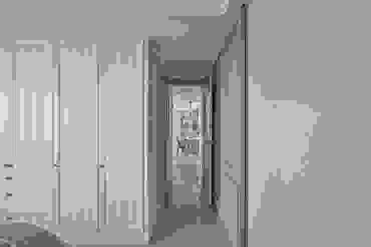 春神-現代寫意 斯堪的納維亞風格的走廊,走廊和樓梯 根據 辰林設計 北歐風