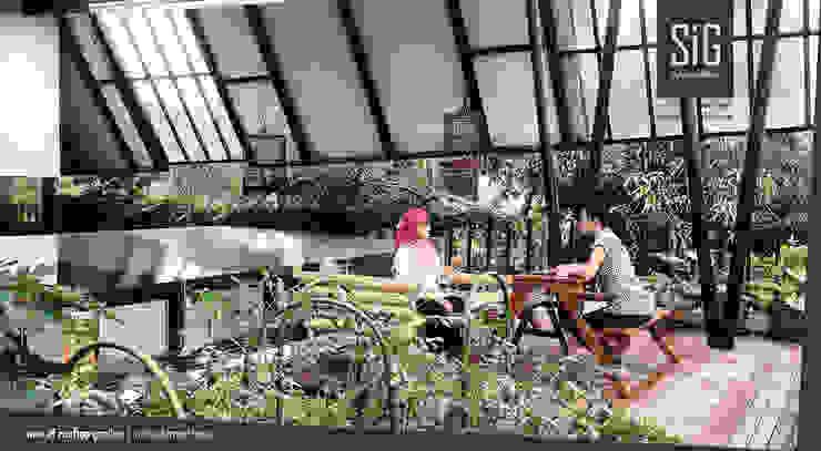 sigit.kusumawijaya | architect & urbandesigner 庭院遮陽棚 木頭 Green