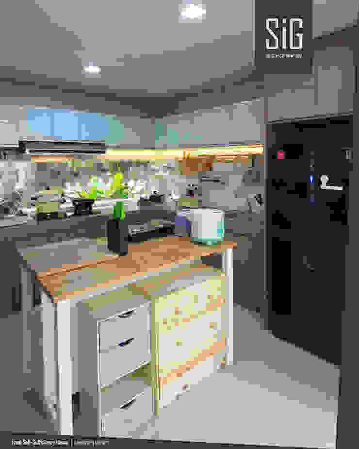 Rumah Kebun Mandiri Pangan (Food Self-Sufficiency House) Oleh sigit.kusumawijaya | architect & urbandesigner Minimalis Kayu Wood effect