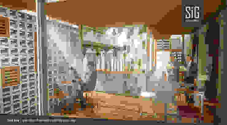 Jogja Guest House Hotel Tropis Oleh sigit.kusumawijaya   architect & urbandesigner Tropis