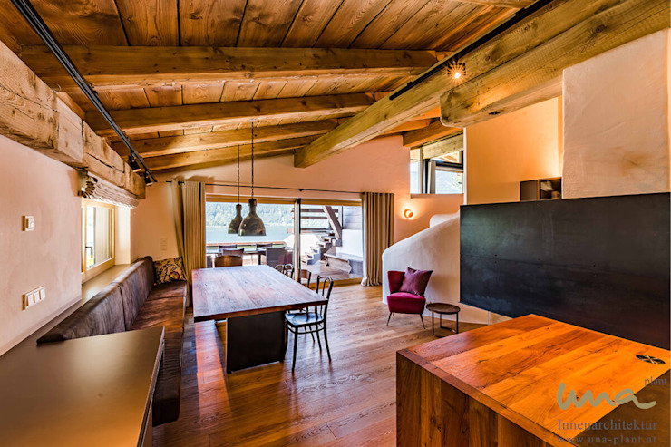 Столовая комната в стиле кантри от UNA plant Кантри