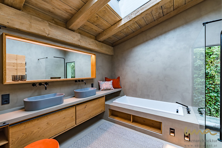 Ванная комната в стиле кантри от UNA plant Кантри