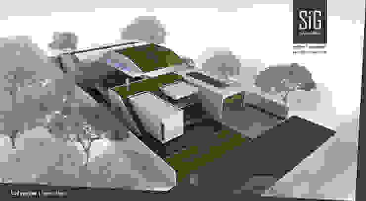 Borneo House Oleh sigit.kusumawijaya | architect & urbandesigner Minimalis