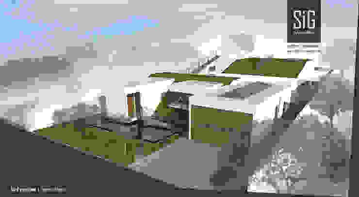 Borneo House Rumah Minimalis Oleh sigit.kusumawijaya | architect & urbandesigner Minimalis