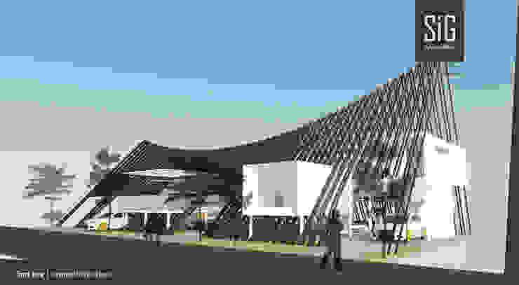 Ironwood Stripes House Hotel Tropis Oleh sigit.kusumawijaya | architect & urbandesigner Tropis