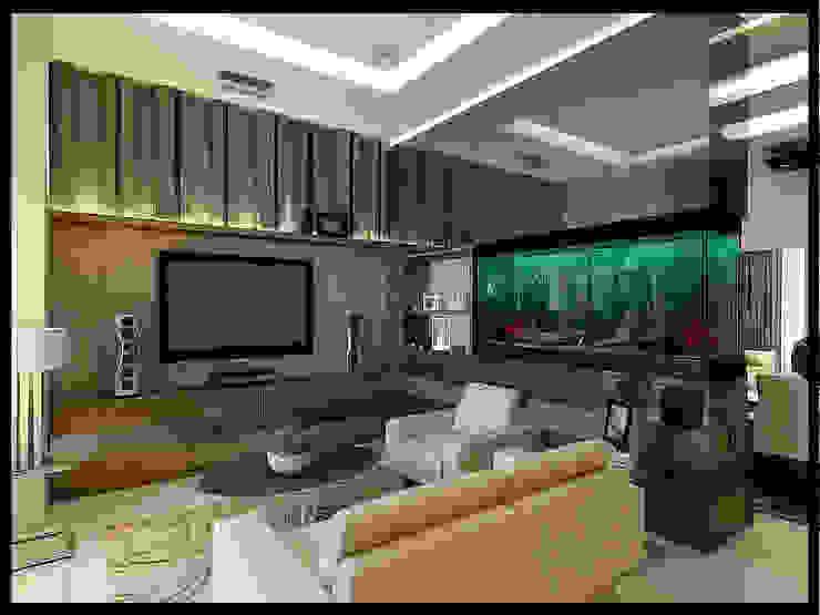 Salas modernas de VaDsign Moderno Madera Acabado en madera