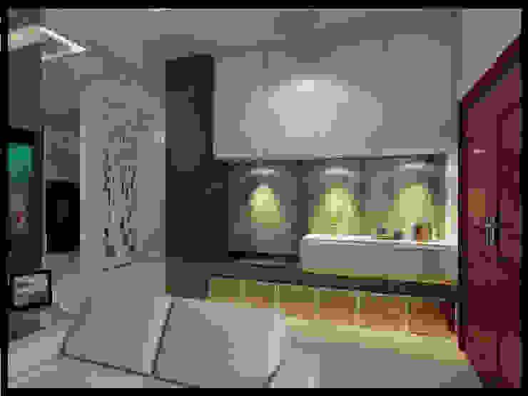 Perumahan Nusa Dua Interior Ruang Keluarga Modern Oleh VaDsign Modern Kayu Wood effect