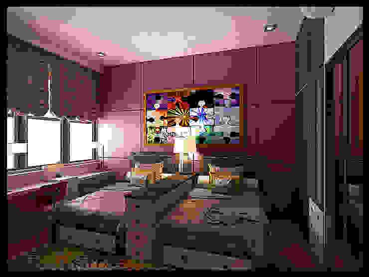 Kids room Oleh VaDsign Modern Kayu Wood effect
