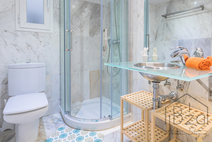 ROX & IRE IBIZA SL Mediterranean style bathroom