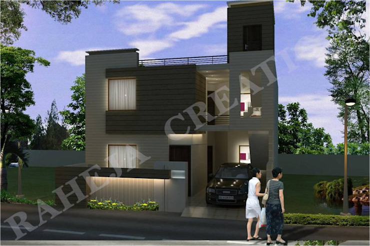 Modern houses by Raheja Creations Modern