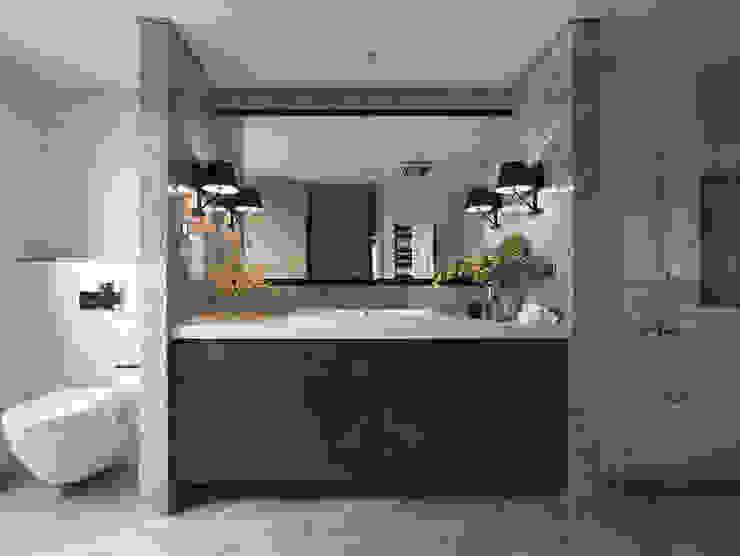 微光 現代浴室設計點子、靈感&圖片 根據 Fertility Design 豐聚空間設計 現代風