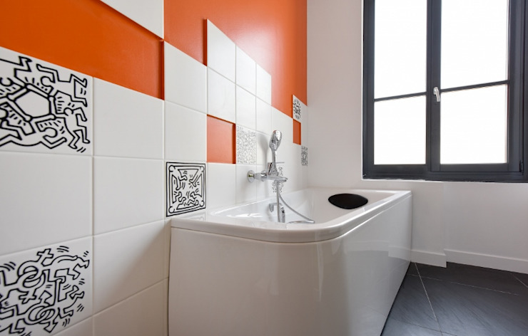 Arty Pop Rénow Salle de bain moderne