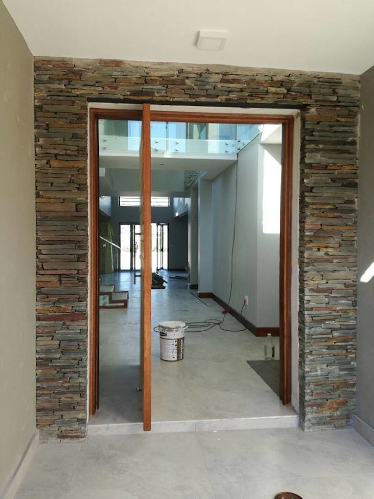 Main Entrance Modern style doors by The Bearded Architect Modern