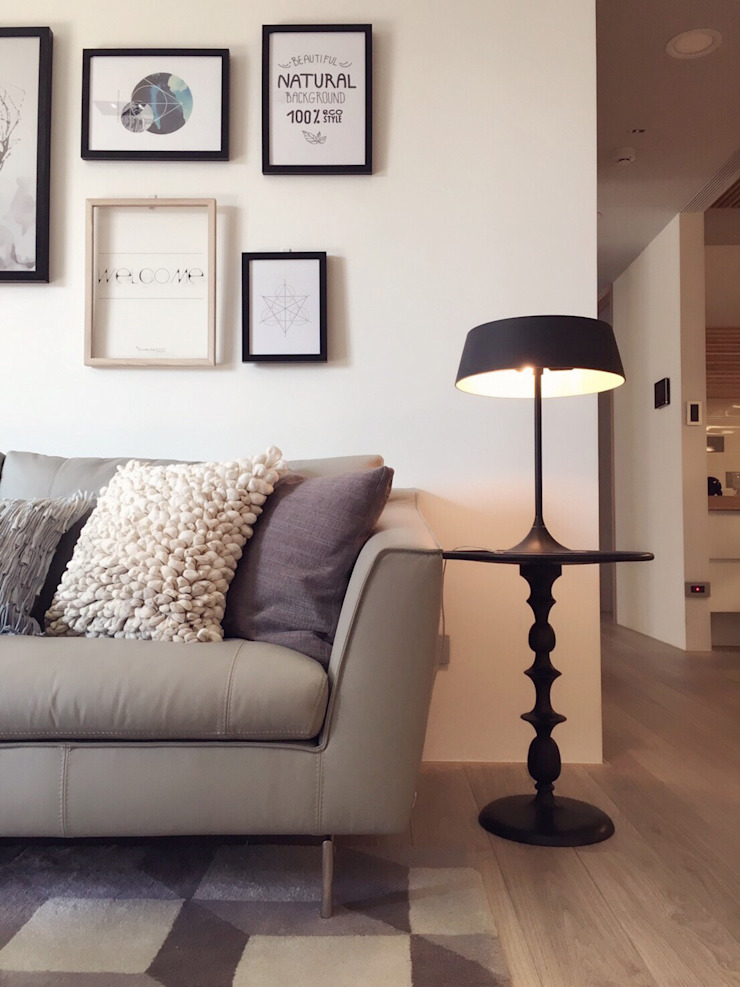 曙光 现代客厅設計點子、靈感 & 圖片 根據 Fertility Design 豐聚空間設計 現代風