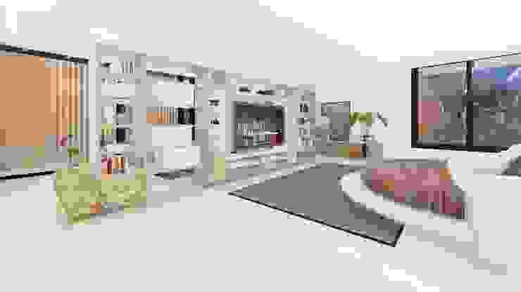 Habitaciones modernas de homify Moderno
