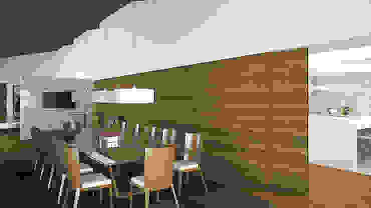 Столовая комната в стиле кантри от EsboçoSigma, Lda Кантри
