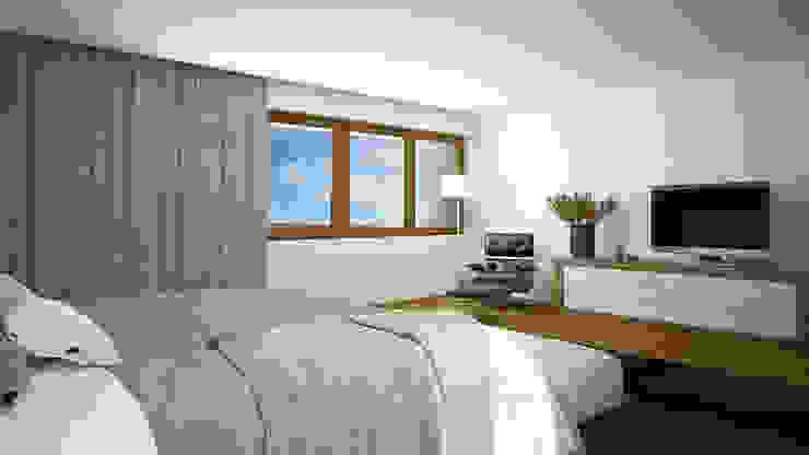 Спальня в стиле кантри от EsboçoSigma, Lda Кантри