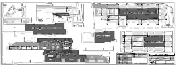 Regularizacion Vivienda Aedo Arquitectos & Design Casas de madera Madera