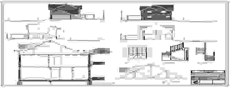 Regularizacion Vivienda Aedo Arquitectos & Design Casas de estilo clásico