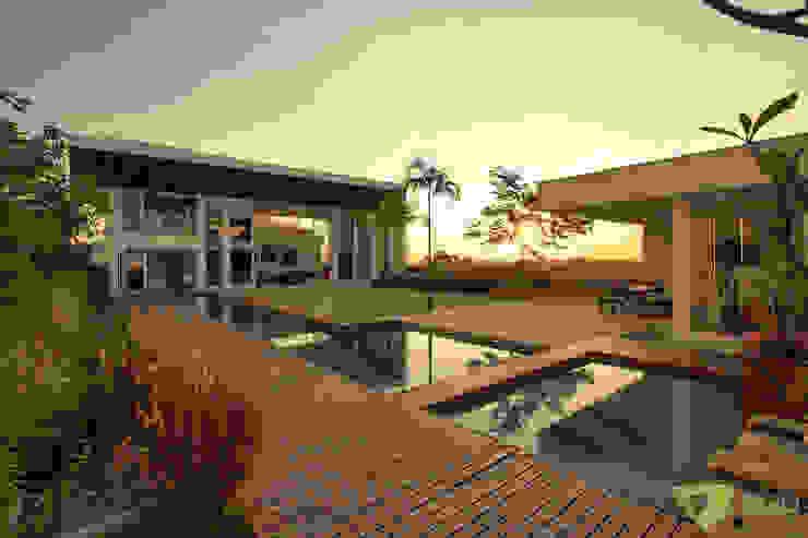 Casa Americana Olaa Arquitetos Condomínios
