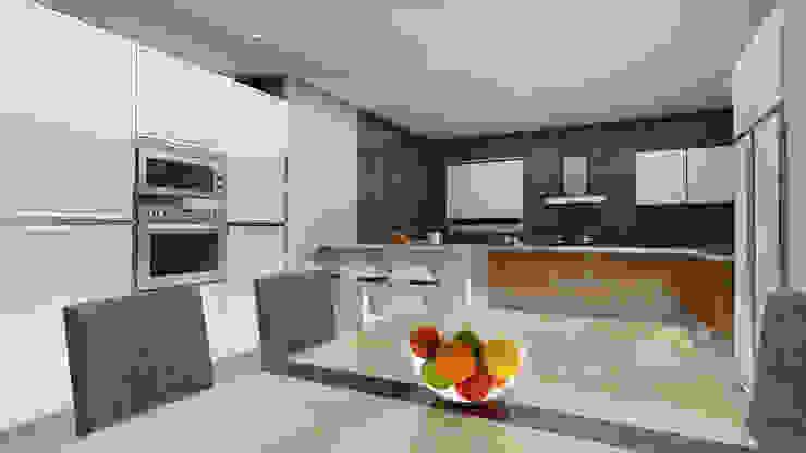 Modern kitchen design Modern dining room by Rhythm And Emphasis Design Studio Modern