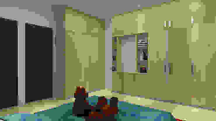homify Modern nursery/kids room
