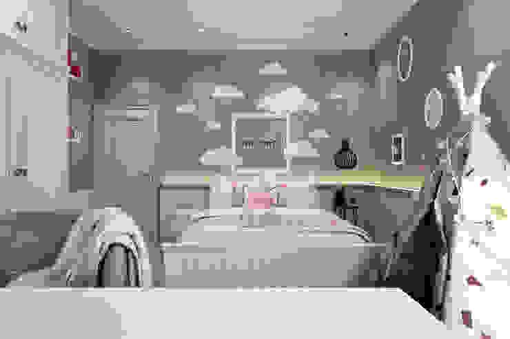 Semi-Detached Houses Design - Senibong Villa Johor,Malaysia Enrich Artlife & Interior Design Sdn Bhd Nursery/kid's room