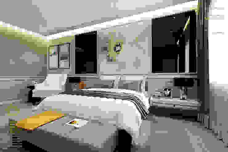 Semi-Detached Houses Design—Senibong Villa Johor,Malaysia Enrich Artlife & Interior Design Sdn Bhd Nursery/kid's room