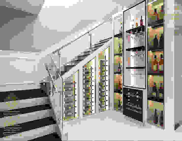 Semi-Detached Houses Design—Senibong Villa Johor,Malaysia Enrich Artlife & Interior Design Sdn Bhd Modern corridor, hallway & stairs