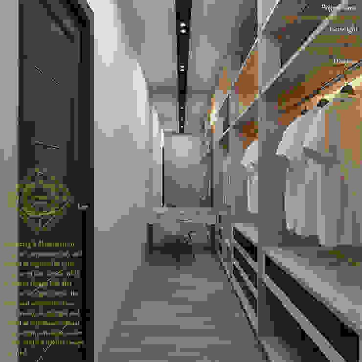 Bungalow Design -Yong Peng Johor Bahru,Malaysia Modern style dressing rooms by Enrich Artlife & Interior Design Sdn Bhd Modern