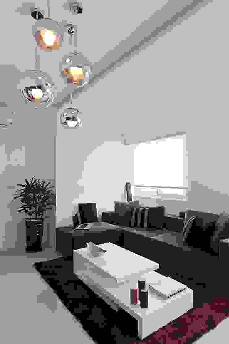 時光交錯的雅士淺居 现代客厅設計點子、靈感 & 圖片 根據 禾光室內裝修設計 ─ Her Guang Design 現代風