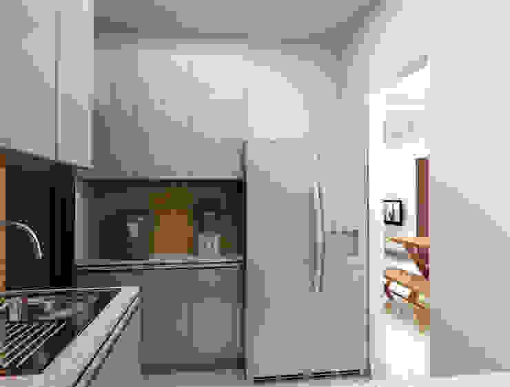 Modular kitchen- Utilizing the space with best concepts Modern kitchen by Rhythm And Emphasis Design Studio Modern
