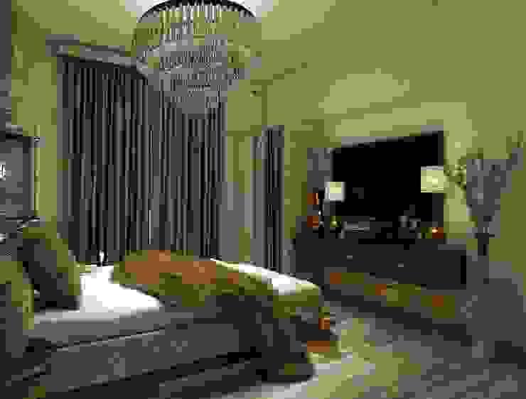 master bedroom tv unit design Rhythm And Emphasis Design Studio Modern style bedroom