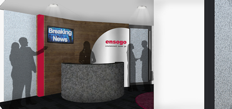 Ensogo Office Modern Study Room and Home Office by SAE Studio (PT. Shiva Ardhyanesha Estetika) Modern