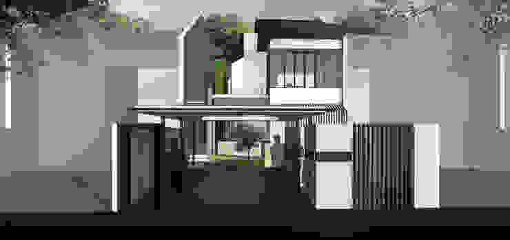 HRW House Tropical style houses by SAE Studio (PT. Shiva Ardhyanesha Estetika) Tropical