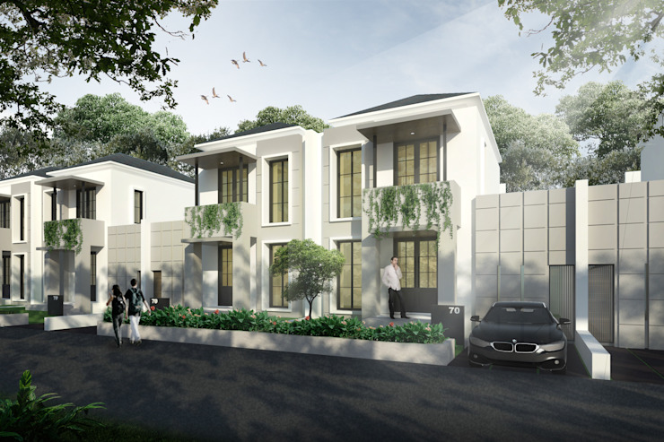 Rumah Klasik Oleh SAE Studio (PT. Shiva Ardhyanesha Estetika) Klasik